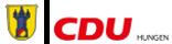 CDU Stadtverband Hungen Logo